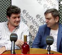 Catalin Paduraru si Florin Bejan vorbesc depre piata de vin romaneasca