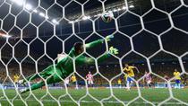 Penaltiul din care Brazilia a trecut in avantaj pe tabela