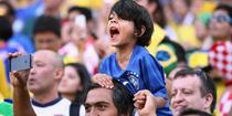FOTOGALERIE Brazilia vs Croatia, cele mai interesante imagini