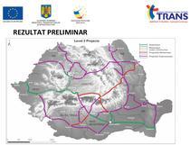 Harta de lucru (iunie 2014) - autostrazile din MasterPlan