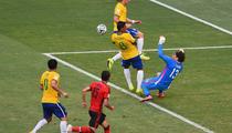 Ochoa, partida mare contra Braziliei