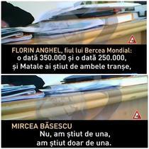 Mircea Basescu recunoaste ca a primit anumite sume de bani