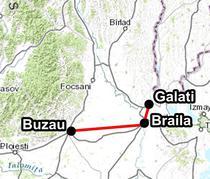 Autostrada Buzau - Braila - Galati (120 km)