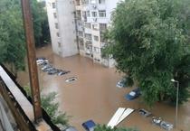 Orasul Varna, inundat