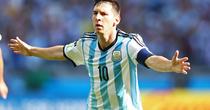 Lionel Messi, decisiv pentru Argentina
