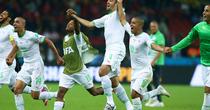 Bucuria jucatorilor algerieni