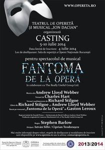 """Fantoma de la Opera"" - casting"