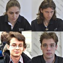 Simona Diaconu, Andrei Bud, Stefan Spataru si Paul Musca