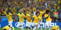Brazilia, cu mari emotii in sferturile CM de Fotbal