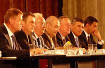 Iohannis si alti lideri PNL