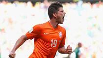 Huntelaar a inscris golul calificarii Olandei in sferturile CM de fotbal
