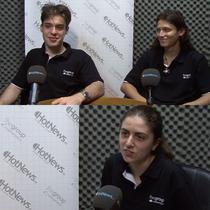 Paul Musca, Andrei Bud si Simona Diaconu