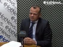 Radu Merica in studioul HotNews