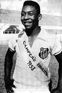 Pele in 1958