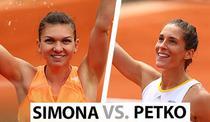 Simona Halep vs Andrea Petkovic