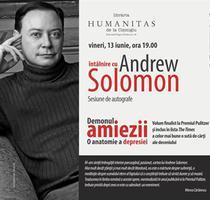 Andrew Solomon, afisul evenimentului