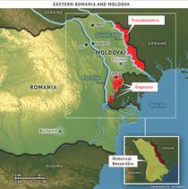 Estul Romaniei si Republica Moldova