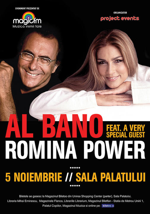 Afis Al Bano & Romina Power