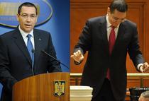 Premierul Victor Ponta versus parlamentarul Victor Ponta