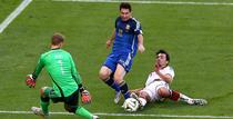 Lionel Messi, in actiune