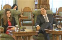 Ministrul Finantelor si premierul la Cotroceni