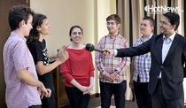 Olimpicii la matematica, la conferinta HotNews - The Group