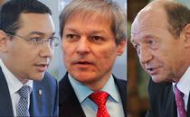 Dacian Ciolos, intre Victor Ponta si Trian Basescu