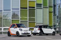 smart fortwo si smart forfour 2014