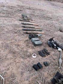 Armament despe care autoritatile israeliene spun ca l-au capturat de la teroristi