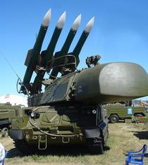 Sistem BUK-M1-2 SAM 9A310M1-2 TELAR la 2005 MAKS Airshow