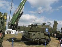 9A317 TELAR al Buk-M2E (versiunea pentru export) la 2007 MAKS Airshow