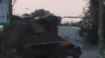 Un lansator de rachete sol-aer BUK, in Ucraina