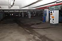 Parcarea de la Intercontinental inainte de reabilitare