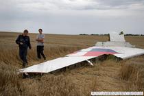 Ramasitele avionului MH17