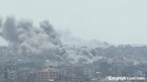 Fasia Gaza, sub bombardamente israeliene
