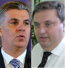 Valeriu Zgonea si Adrian Duicu