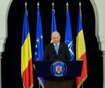 Traian Basescu la Cotroceni