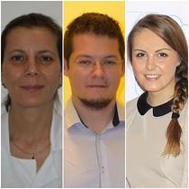 Dr. Mihaela Demetrian, Dr. Radu Botezatu, Andra Barchi