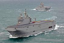 Nava de asalt port-elicopter de tip Mistral
