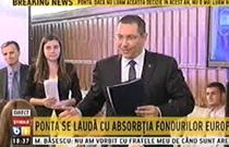 Victor Ponta si Ioana Petrescu