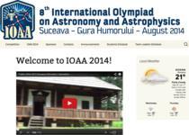 Olimpiada Internationala de Astronomie si Astrofizica 2014