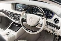 Interior de Mercedes Clasa S