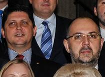 Titus Corlatean si Kelemen Hunor la Guvern