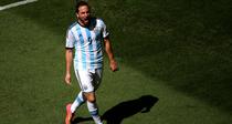 Gonzalo Higuain, gol superb contra Belgiei