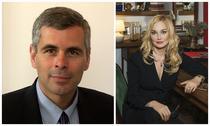 Michael Stewart (Edelman) si Corina Vintan (Links Associates)