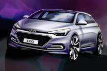 Schita Hyundai i20 2015