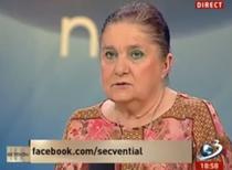 """Lucia Hossu Longin dorea un episod in """"Memorialul Durerii"""" cu """"lotul Adrian Nastase"""""""