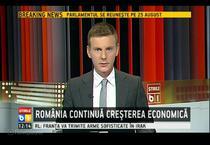 Romania continua cresterea economica la B1 TV