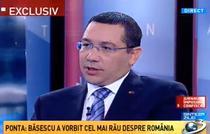 Victor Ponta la Sinteza zilei