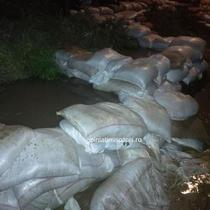 Inundatii la Denta (jud. Timis)